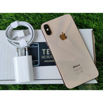 iPhone XS 64GB GOLD ROSE RÓŻOWY JAK NOWY BAT 89%