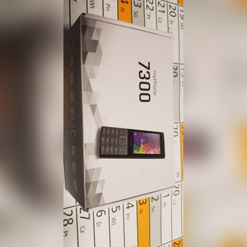 Myphone 7300 Klasyczny Telefon z Metalowa Obudowa