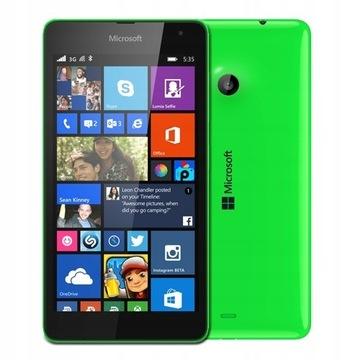 Microsoft Lumia 535 Zielona RM-1089