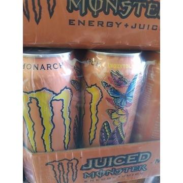 Energy Monster Monarch karton 12szt Mule Pacific