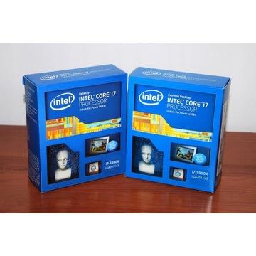 NOWY PROCESOR INTEL i7 5960X 8/16 RDZENI BOX