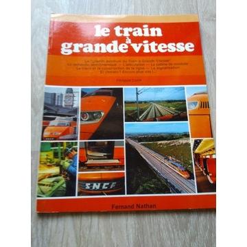 Pociąg TGV książka - język francuski!
