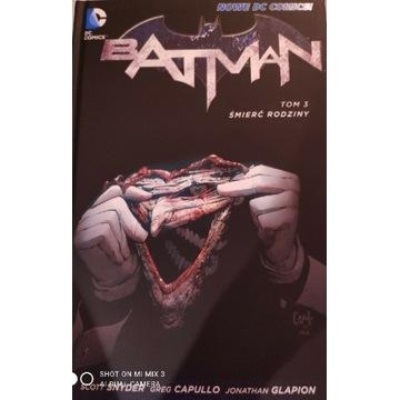 Batman tom 3 śmierć rodziny