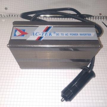 Przetwornica 12V  DC na AC 400W  230V