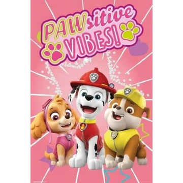 Plakat Psi patrol - Pawsitive Vibes 61,5x91