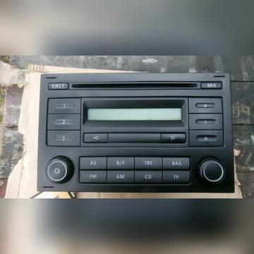 Radio VW RCD 200 wraz z emulatorem na eur złącze