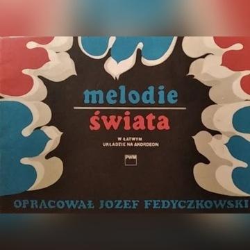 Nuty na akordeon Melodie świata J. Fedyczkowski