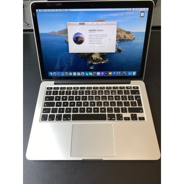 "MacBook Pro, Retina 13"" (2013) 2,4GHz i5, 8GB RAM"