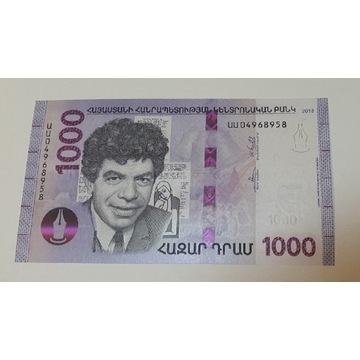 1000 DRAM  - Armenia UNC