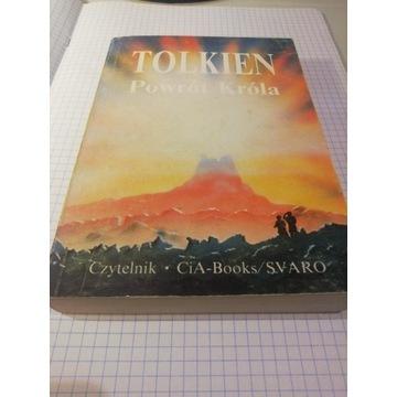 Tolkien Władca Pierścieni Powrót Króla