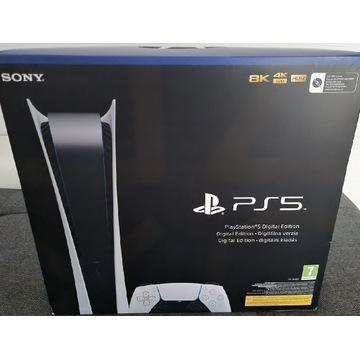 PS5 Playstation 5 z PADem + 20 gier