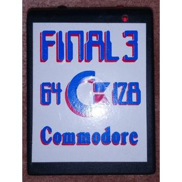 Cartridge kartridż FINAL3 Commodore C64 C128