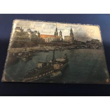 Stara pocztówka Dresden