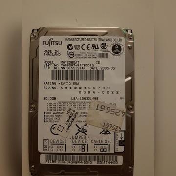 HDD Fujitsu MHT2080AT 4200RPM 80Gb DMA/ATA-100
