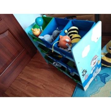 Organizer na zabawki