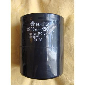 Kondensator HCGF5A 3300UF 450VDC