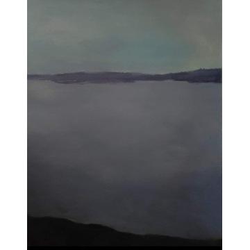 Cisza obraz  60x80  pejzaż medytacja relaksacja