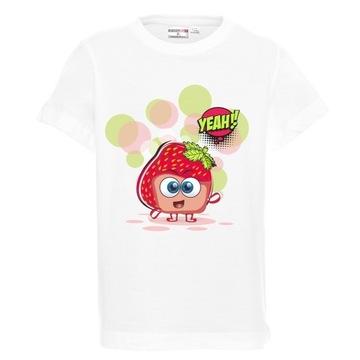 Koszulka dziecięca, t-shirt, zabawny nadruk, wzory
