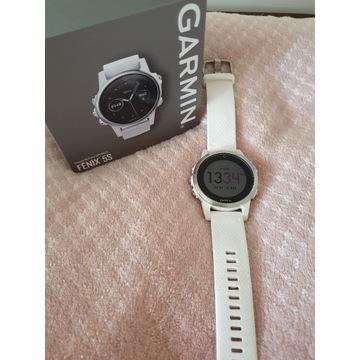 Garmin Fenix 5S smartwatch biały zegarek stan bdb!
