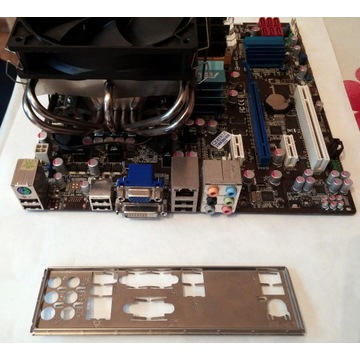 Płyta główna ASUS+Core 2 Quad+8GB ram