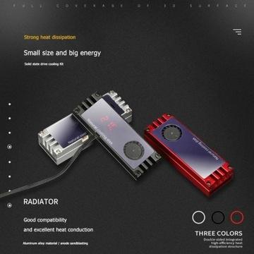 Chłodzenie dysku SSD M.2 Coller radiator M.2