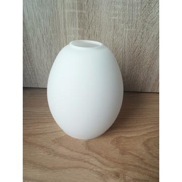 Klosz szklany biały E14 12 cm