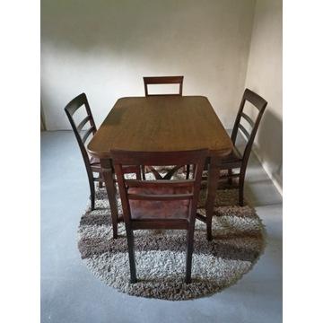 Stół rozkładany i 5 krzeseł z 1938r