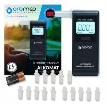 ALKOMAT ELEKTROCHEMICZNY OROMED X12 PRO BLACK