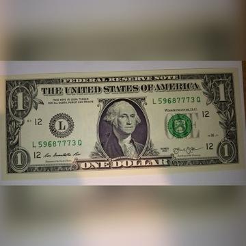 Banknot 1 Dolar Amerykański San Francisco unc