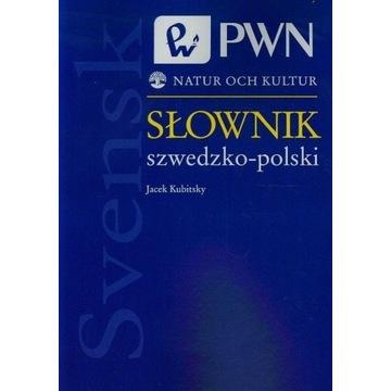 Kubitsky, Słownik szwedzko-polski