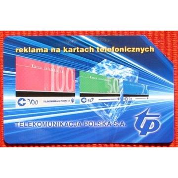 KT 749 - Reklama na kartach telefonicznych