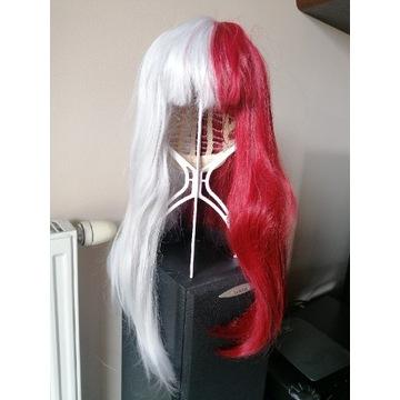 Shoto Todoroki peruka wig cosplay anime BNHA