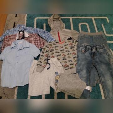 Zestaw ubrań dla chłopca roz. 104