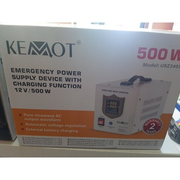 Awaryjne źródło zasilania Kemot PROsinus-500