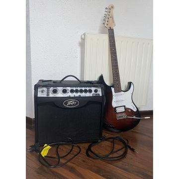 Gitara Yamaha Pacifica 112v + wzmacniacz+akcesoria