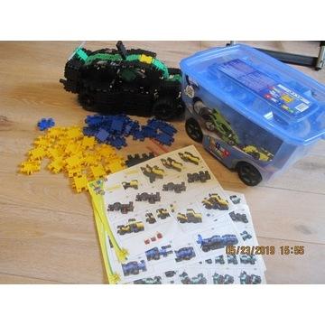 Clics 400 nitro + 4 auta duże gumowe koła