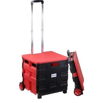 wózek transportowy na zakupy firmy Rackaphile
