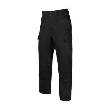 Czarne spodnie mundurowe klasa policyjna