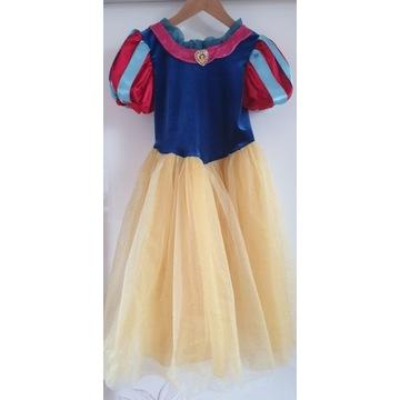 sukienka na bal Królewna Śnieżka