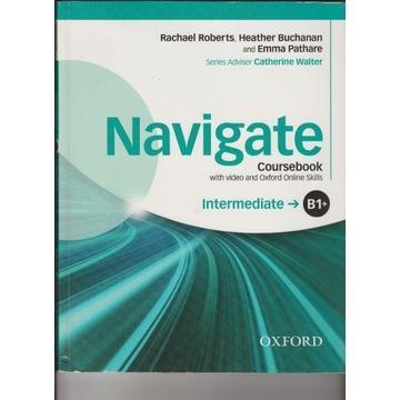 Navigate: Intermediate B1+: Coursebook + Płyta
