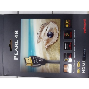 Kabel HDMI 2.1 AudioQuest Pearl 48G 1,5m