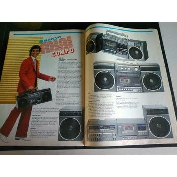 Katalog Sanyo 1984
