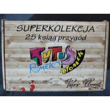 Superkolekcja Tytus Romek Atomek Pakiet 25 ksiag