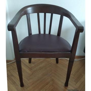 Stylowy fotel gabinetowy Krzesło kolonialne