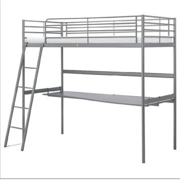 Łóżko pojedyncze piętrowe