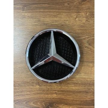 Mercedes gwiazda logo emblemat na grill