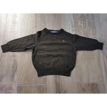 H&M, Brązowy sweterek chłopięcy