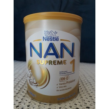 NAN SUPREME 1 HM-0, mleko początkowe 800 g