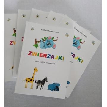 """Książka dla dzieci """"ZWIERZAJKI"""""""