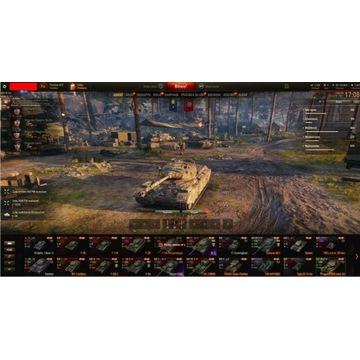 Konto Wot 20000000 Kredytów 11 Czołgów Premium